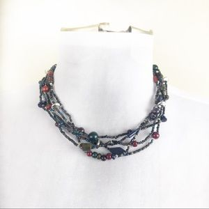 Vintage Multi-Strand Necklace